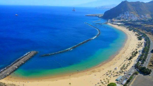 Playa de Las Teresitas, beach Tenerife