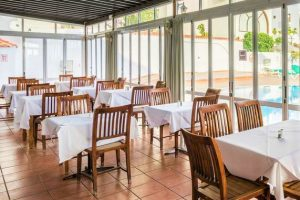 Blue Sea Apartamentos Callao Garden all inclusive hotel tenerife south restaurant