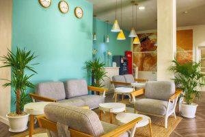 Coral Compostela Beach Golf reception all inclusive hotel in Playa de las Americas
