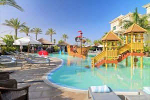 Gran Melia Palacio de Isora Resort & Spa swimming pool with slides