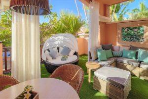 Green Garden Resort & Suites terrace