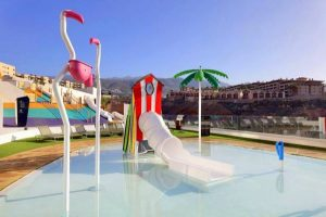 Hard Rock Hotel Tenerife swimming pool with slides