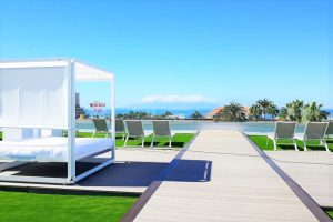 Hotel La Siesta sunbed