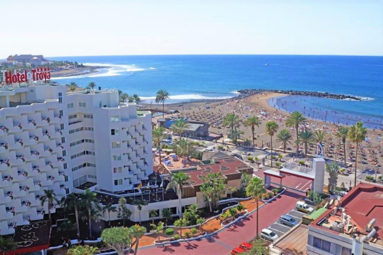 all inclusive Hotel Troya in playa de las americas