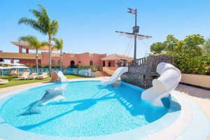 Iberostar Selection Anthelia kid swimming pool with slides
