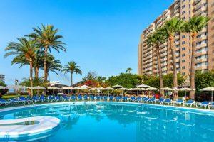 Sol Arona Tenerife swimming pool all inclusive hotel in Los Cristianos