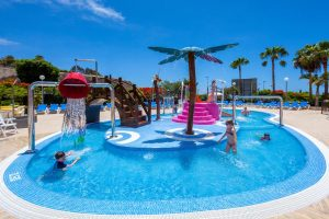 Tagoro Family & Fun Costa Adeje kid's swimming pool with water slides
