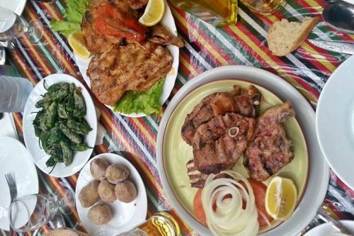 Guachinche local Canarian food